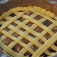 Crostata con rabarbaro e fragole step 5