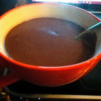 Gluten-free and unconscious hot chocolate (or almost)