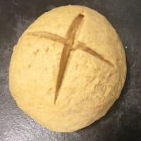 Treccia di pan brioche al curry step 2