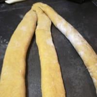 Treccia di pan brioche al curry step 4