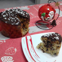 Panettone Without Butter With Chocolate Drops ... !!!