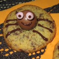 Galletas de Halloween de la araña