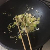 Fideos con camarones y hojas de nabo paso 9