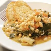Zuppa di bieta e fagioli step 5