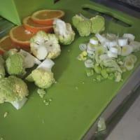Orata al cartoccio con insalata di agrumi calda step 5