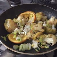 Orata al cartoccio con insalata di agrumi calda step 10