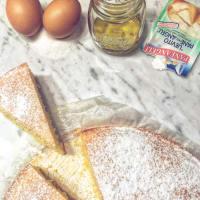 Torta soffice all'olio di oliva
