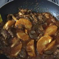 Padellata corazón de ternera con naranjas y curry tailandés paso 4