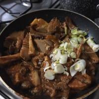 Padellata corazón de ternera con naranjas y curry tailandés paso 6