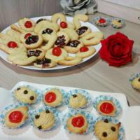 galletas de mantequilla galletas batida