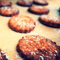 Biscotti al cocco vegan step 2