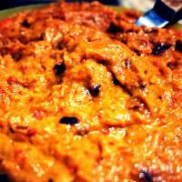 salsa de ajvar: una crema de pimientos y berenjenas típica de los Balcanes paso 4