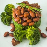 Arándanos y brócoli