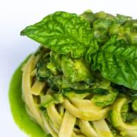 Espagueti Nerano vegano