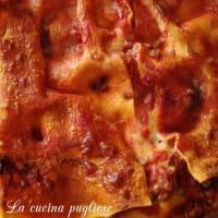 Lasagne con ricotta e provola