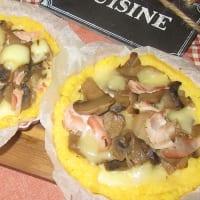 Polenta Tarts With Mushrooms