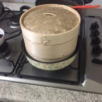 Testacoda di salmone con patate novelle e funghi al gratin senza pane step 7
