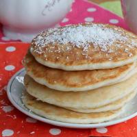 Pancakes senza glutine al limone