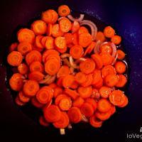 Fusilli integrali con pesto di carote e noci step 2