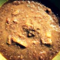 Vellutata di lenticchie e funghi step 4