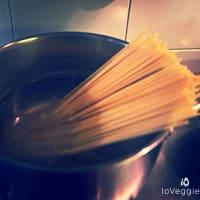 Spaghetti con nastri di verdure step 2