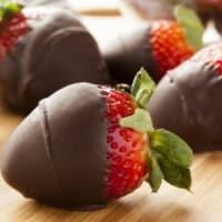 Fragole con cioccolato