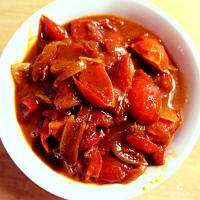 chutney de tomates cherry paso 3