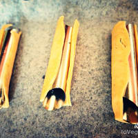 Barchette con hummus de remolacha y piñones paso 2