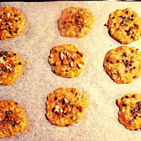 galletas de avena, chocolate y nueces paso 3