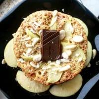mugcake manzana paso 1