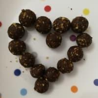 Mini palline energetiche cacao e arancia step 1