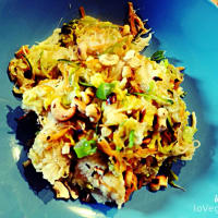 fideos de arroz con China paso 7