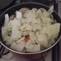 Minestra di pollo con verdure e habanero step 2