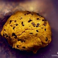 Los veganos Biscotti de almendras y chocolate paso 2