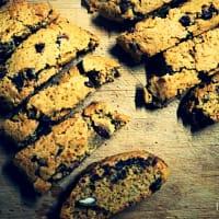 Los veganos Biscotti de almendras y chocolate paso 4