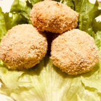 Ricotta and tuna meatballs (from Uncle Vigno)