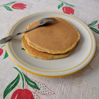 Pancakes clean eating very fast