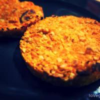Vegan Burger di carote al forno