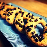 Ciambelline con gocce di cioccolato vegan