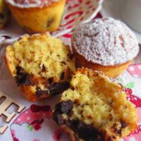Dark Chocolate Muffin Without Gluten