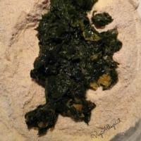 Pan de espinacas paso 3