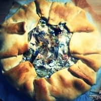 Torta rustica di carciofi e ricotta vegan