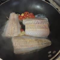 Una sabrosa cena de dieta de pescado paso 4