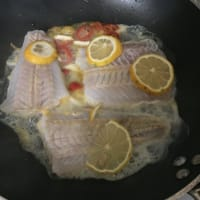 Una sabrosa cena de dieta de pescado paso 5