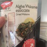 Insalatona asiatica di alghe wakame step 2