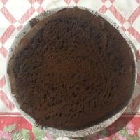 Donut de chocolate con proteínas
