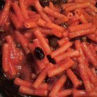 Sedanini with light lentils