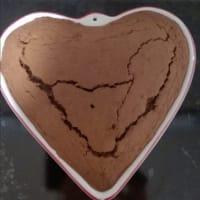 Torta a cuore al cioccolato step 6