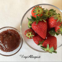 Tarta con fresas paso 2