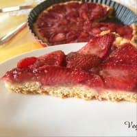 Tarta con fresas paso 12
